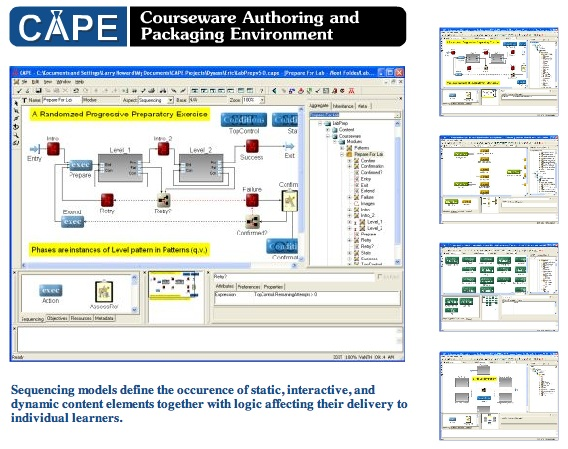 CAPE: Courseware Authoring and Packaging Environment